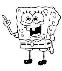 Spongebob Squarepants Halloween Coloring Pages Pictures That You Can Color Fresh Gallery Colorings Children Design Ideas
