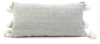 Moroccan Wool Pom Pom Pillow Antevasins