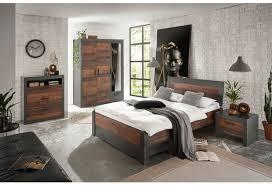 imv schlafzimmer kombi b8 mit kleiderschrank schwarz braun