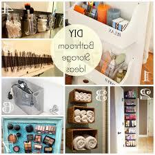 Bathroom Organization Ideas Diy by Bathroom Diy Storage Ideas Organization Best Small Cottage Cabinet