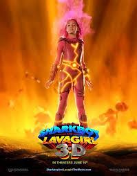 The Adventures Of Shark Boy Lava Girl Starring