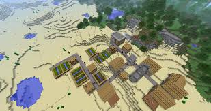 Minecraft Pumpkin Seeds Pe by 1 2 4 Amazing Seed All Biomes Npc Village And Stronghold Near