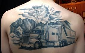 100 Semi Truck Tattoos Browse Worlds Largest Tattoo Image Gallery TrueArtistscom