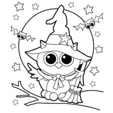 Free Online Printable Halloween Coloring Sheets