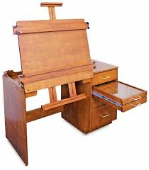 Easel Desk With Stool by Artist U0027s Easel Desk With Storage On Casters My Husband Could Make