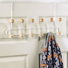 12 Hook Over The Door Coat Rack Image