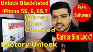 How to unlock blacklisted iPhone 5 6 & 7 Unlock Iphone Carrier