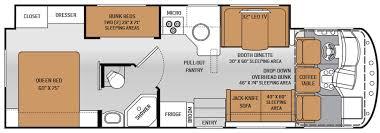 Class C Motorhome With Bunk Beds by Class C Rv Floor Plans With Bunk Beds U2013 Gurus Floor