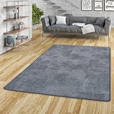 streifenberber teppich lines blau meliert größe 200x300 cm