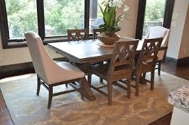 Captains Chairs Dining Room by Kitchen Noble House