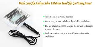 Wood Lamp Examination Diagnosis by Woods Lamp Usa Skin Care Woods Lamp Uv 3x Magnifying Lens