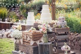 Rustic Garden Wedding Outdoor Cakes Pinterest