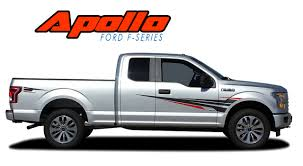 Ford F-150 Body Vinyl Graphics Side Stripes Decal | APOLLO ACCENT ... Vehicle Wraps Seattle Custom Vinyl Auto Graphics Autotize Fleet Lettering Ford F150 Predator 2 Fseries Raptor Mudslinger Side Truck Bed Tribal Car Graphics Vinyl Decal Sticker Auto Truck Flames 00027 2015 2016 2017 2018 Graphic Racer Rip 092018 Dodge Ram Power Hood And Rear Strobes Shadow Chevy Silverado Decal Lower Body Accent Apollo Door Splash Design Rally Stripes American Flag Decals Kit Xtreme Digital Graphix 002018 Champ Commerical Extreme Signs Solar Eclipse Inc