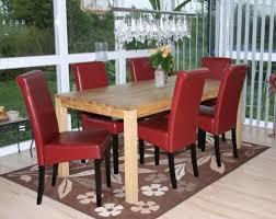rot creme weiß braun schwarz 6x esszimmerstuhl stuhl novara