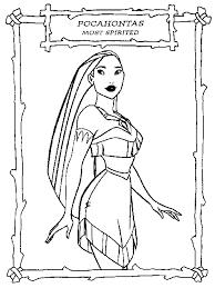 The Pocahontas Coloring Pages New Disney PocahontasDisney PrincessDisney