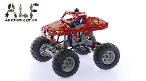 100 Lego Technic Monster Truck 42005 Speed Build Review YouTube