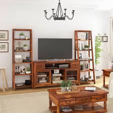 Solid Mahogany Wood Wenge TV Hifi Unit Stand Sideboard Storage Living Room