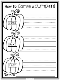 Spookley The Square Pumpkin Writing Activities by Halloween Includes