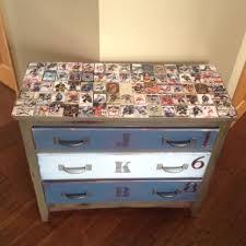 Broyhill Fontana Dresser Dimensions by Dresser I Restored For A Kids Room Hockey Dresser Resin Epoxy