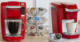 Today Only Best Buy Is Offering This Keurig K15 Single Serve Coffee Maker In Chili Red For 3999 Shipped Regularly 9999 Thats A Whoppin