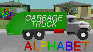 Alphabet Garbage Truck - Learning For Kids - YouTube