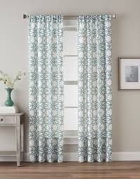 Smocked Burlap Curtains By Jum Jum by Lotus Harmony Curtain Panel Seafoam Or Charcoal 40