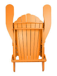 outer banks poly lumber folding adirondack chair with integrated