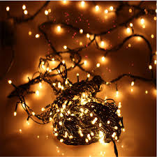 New Year Christmas Decorations 4 Meters 100 Lights Warm White Rice Bubble Tree Decoration