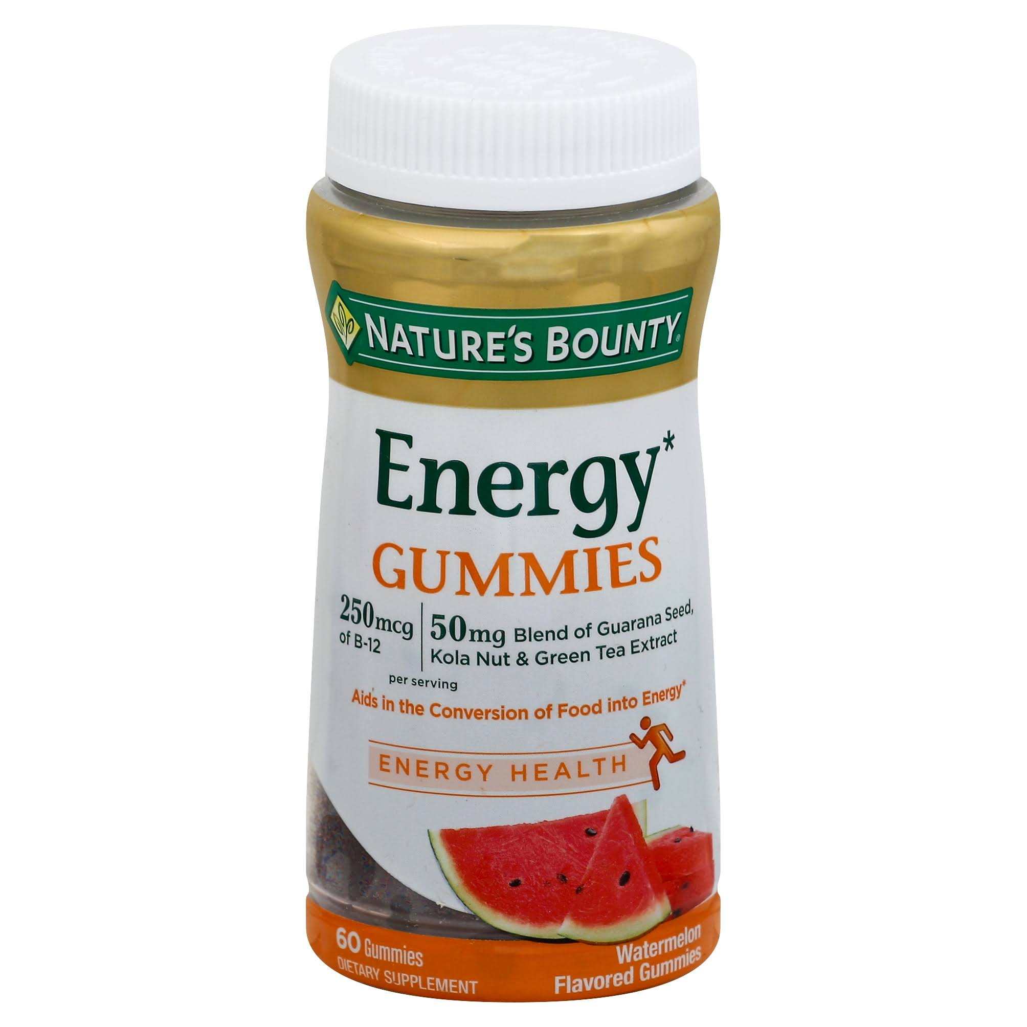 Nature's Bounty Energy Complex Gummies - Watermelon, x60