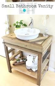 Lovely Farmhouse Bathroom Vanity For Rustic Wood 36 Style Lights