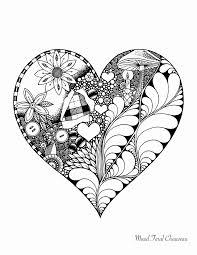 Image Coeur D Amour Gratuit Frais Bonjour Des Pages à Colorier