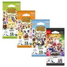 Nintendo Amiibo Animal Crossing Karten Serie 1 2 3 Und Mario Sports