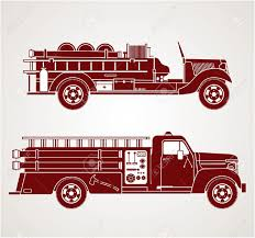 100 Fire Truck Clipart Vintage S Royalty Free S Vectors And Stock