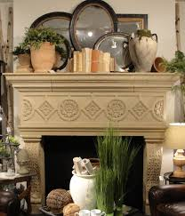 Mantel Decor For This Spring Display We Wanted To Go