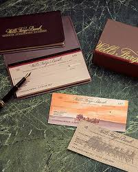 Wells Fargo Bank Check Design