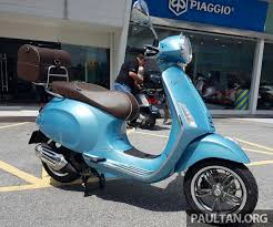 2017 Vespa 70th Anniversary Edition From RM18440