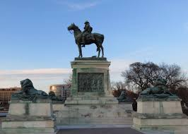 The Ulysses S Grant Memorial Bookends National Mall On East End Although