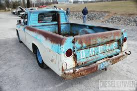 1965 Dodge D100 - Nickel-and-Dime Dodge - Diesel Power Magazine 1965 Dodge D100 Beater By Tr0llhammeren On Deviantart Kirby Wilcoxs Short Box Sweptline Pickup Slamd Mag Hot Rod Network A100 5 Window Keep On Truckin Pinterest File1965 11304548163jpg Wikimedia Commons D700 Flatbed Truck Item A6035 Sold February Nickelanddime Diesel Power Magazine Used Truck Emblems For Sale High Tonnage Gasoline Series C Ct Sales Brochure Vintage Intertional Studebaker Willys Othertruck Searcy Ar Ford With A Ram Powertrain Engine Swap Depot