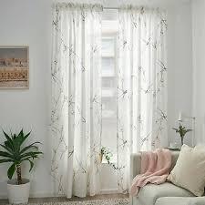 ikea rödlönn gardinen 145x300cm 2 gardinenschal weiß