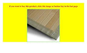 bambusteppich marigold für bad und wohnzimmer natürlich