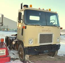 Right Size Trucks For 825 Deck by 1975 Gmc Astro 95 Semi Truck Item F2114 Sold January 6