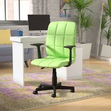 Wayfair Swivel Desk Chair by Green Office Chairs You U0027ll Love Wayfair