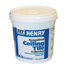 Sheetrock Ceiling Tiles Home Depot by Henry 237 1 Gal Acoustical Ceiling Tile Adhesive 12016 The Home