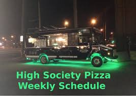 High Society Pizza Food Truck On Twitter: