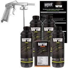 Raptor Tintable Urethane Spray-On Truck Bed Liner Spray Gun, 4 ...
