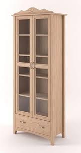 esszimmerschrank vitrine 100 cm breit eiche massiv optik
