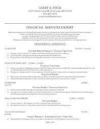 Personal Banker Sample Resume Job Description For Templates Teachers Free