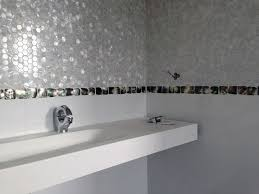 white freshwater of pearl mosaic tiles and convex