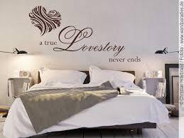 wandtattoo a true lovestory wandtattoo schlafzimmer