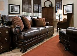 Bernhardt Foster Leather Furniture by Foster Traditional Leather Living Room Collection Design Tips